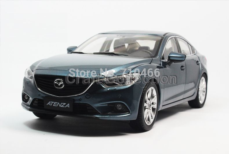 Rare Blue 2013 1 43 Mazda 6 Atenza Premiumx X Miniature Model Car
