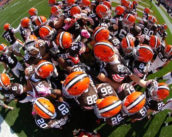 1a584169c Browns Team Huddle Picture at Cleveland Browns Photo Store | Love my ...
