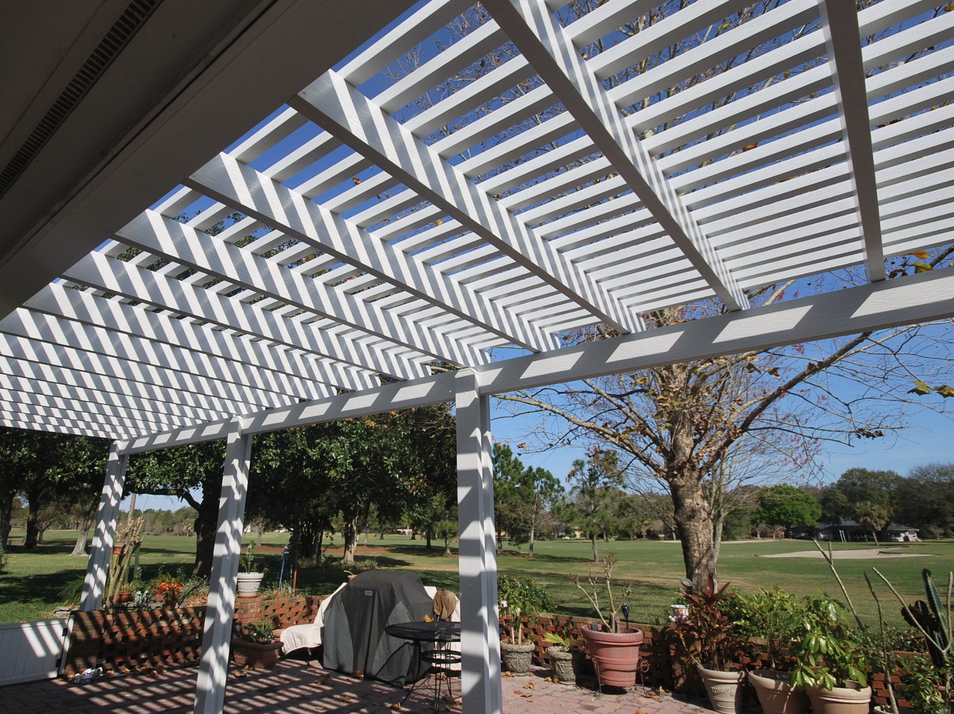 Pergolas Built By Conner Exteriors Need Little To No