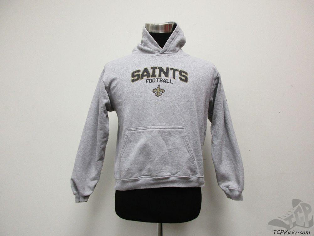 ec0691f8 Reebok New Orleans Saints Hoody Sweatshirt sz Youth XL Extra Large ...