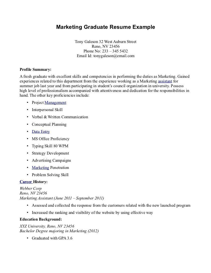 40 Cool And Elegant Resume Sample For Fresh Graduate You Must See Job Resume Samples Job Resume Resume Examples