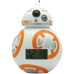 Buy Star Wars Bb 8 Bulbbotz Clock At Argos Co Uk Visit Argos Co Uk To Shop Star Wars Alarm Clock Star Wars Bedroom Alarm Clock