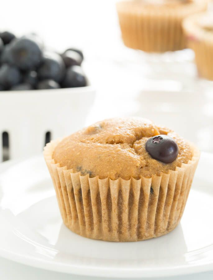 Healthy Blueberry Muffins (With images) Gluten free