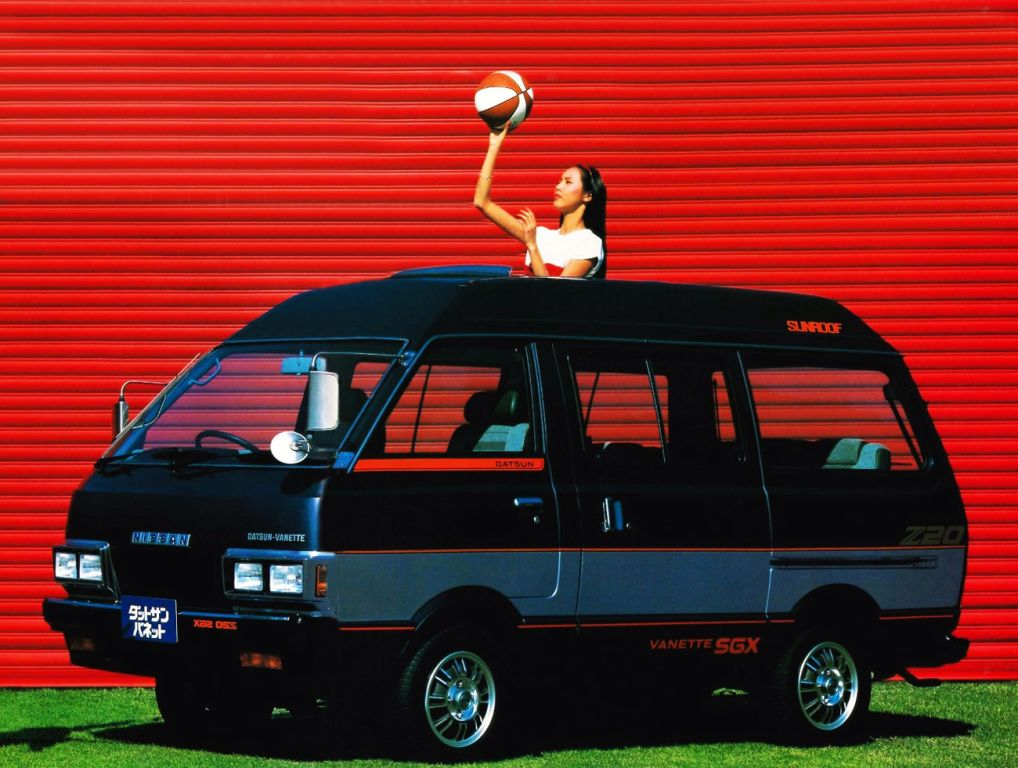 Nissan Datsun Vanette Coach High Panorama Roof C120 1982 86 日産自動車 ワゴン 自動車