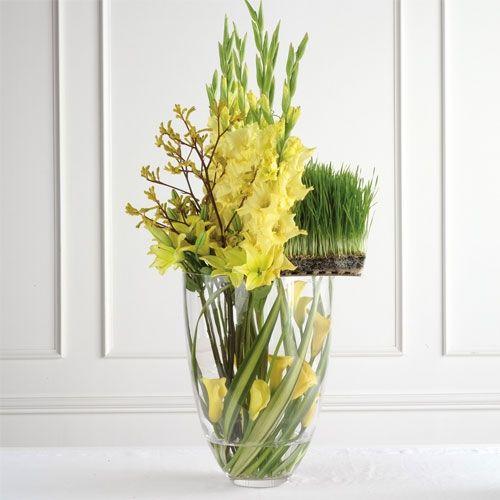 Wedding Altar Call: Modern Altar Flower Design