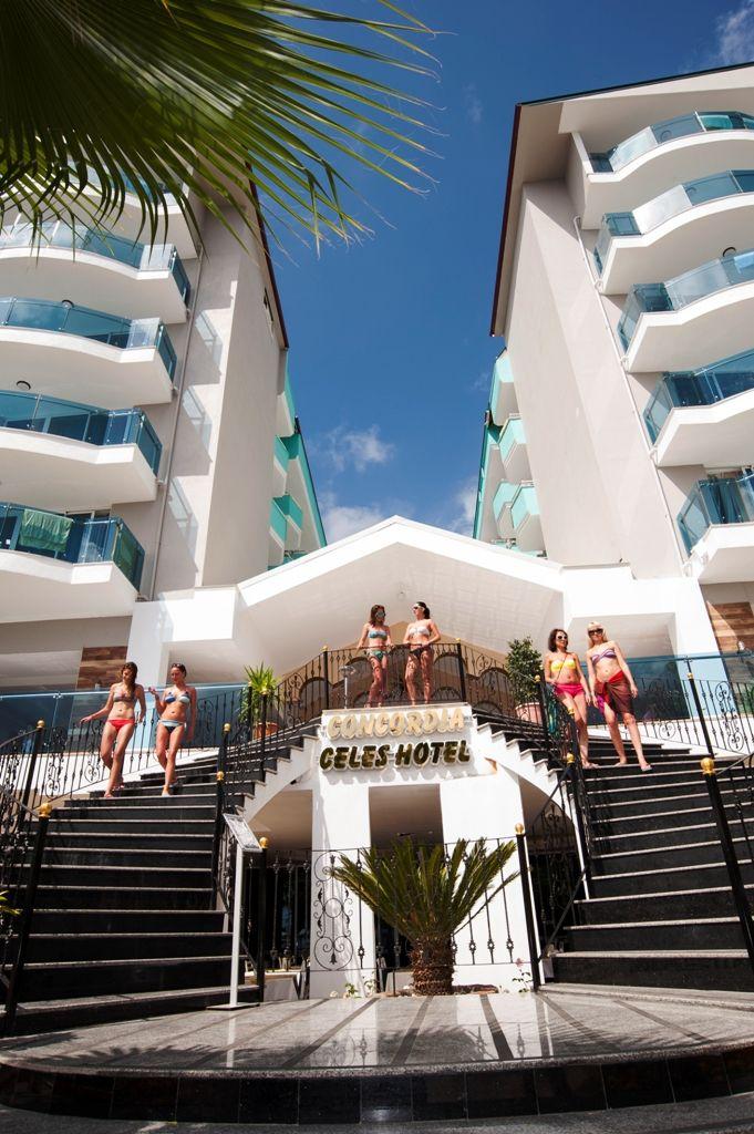 Finde Das Beste Angebot Fur Concordia Celes Hotel In Alanya Auf Charterfluege Net Luks Evler Luks Evler