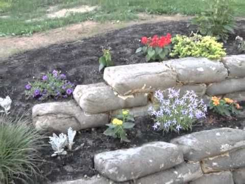 Another Look At The Retaining Wall Youtube Made From Concrete