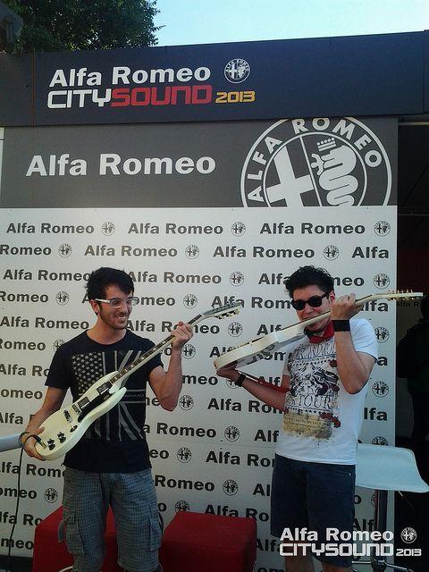#AlfaCitySound Day 3 - Alfa Romeo Stand