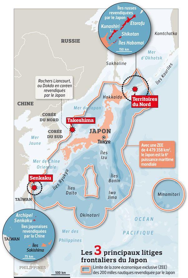 Une Carte Pour Comprendre Le Conflit Des Iles Senkaku Source