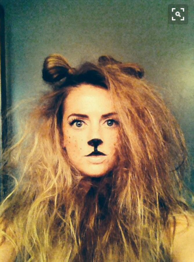 Lion Costume Hair And Ears In 2019 Lion Halloween Costume