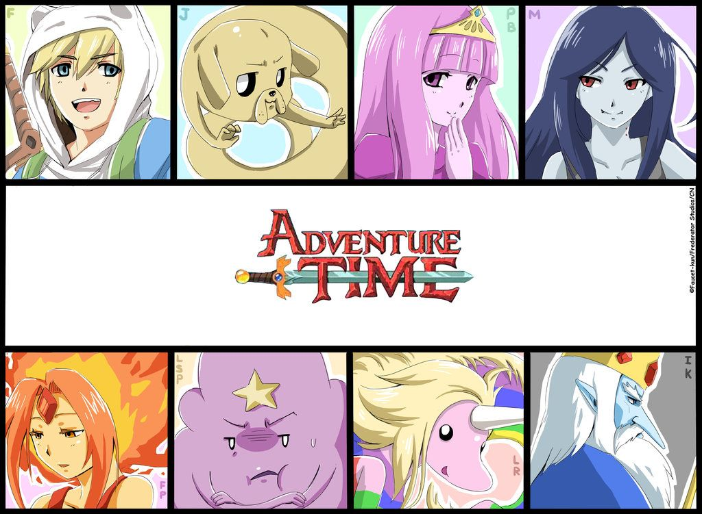Adventure Time With Finn And Jake Photo Anime Style
