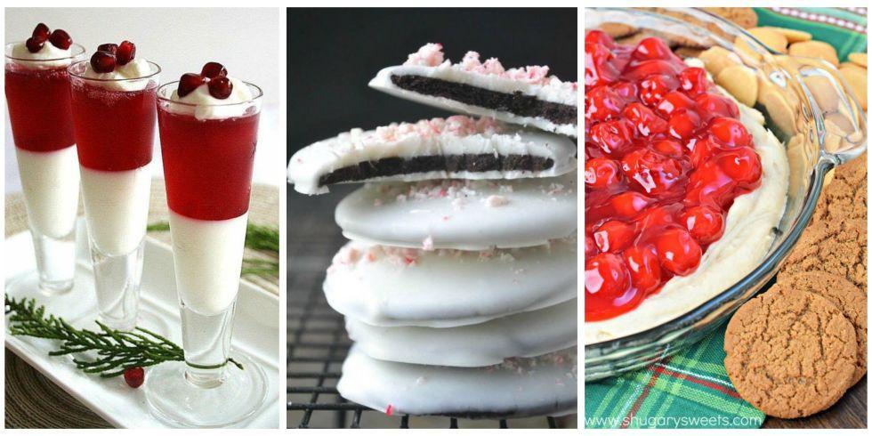 No Bake Christmas Desserts - Easy Christmas Desserts