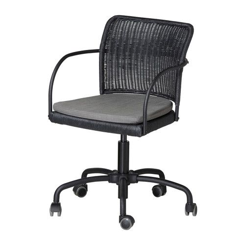 Gregor swivel chair ikea height adjustable for a for Ikea comfy chair
