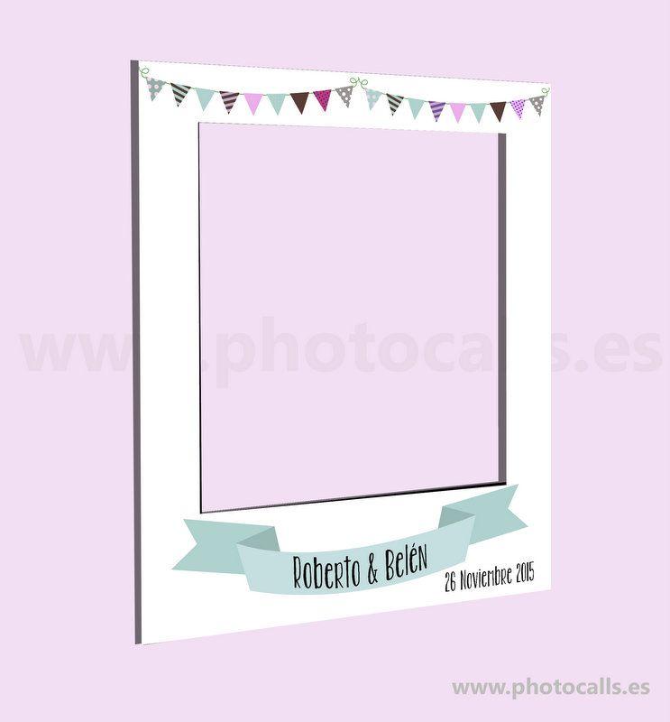 Photocall marco para cualquier evento medidas 1 20x1metro - Marcos baratos a medida ...