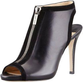 Jimmy Choo Mayva Zip Slingback Bootie, Black...BozBuys Budget Buyers Best Brands! ejewelry & accessories...online shopping http://www.BozBuys.com