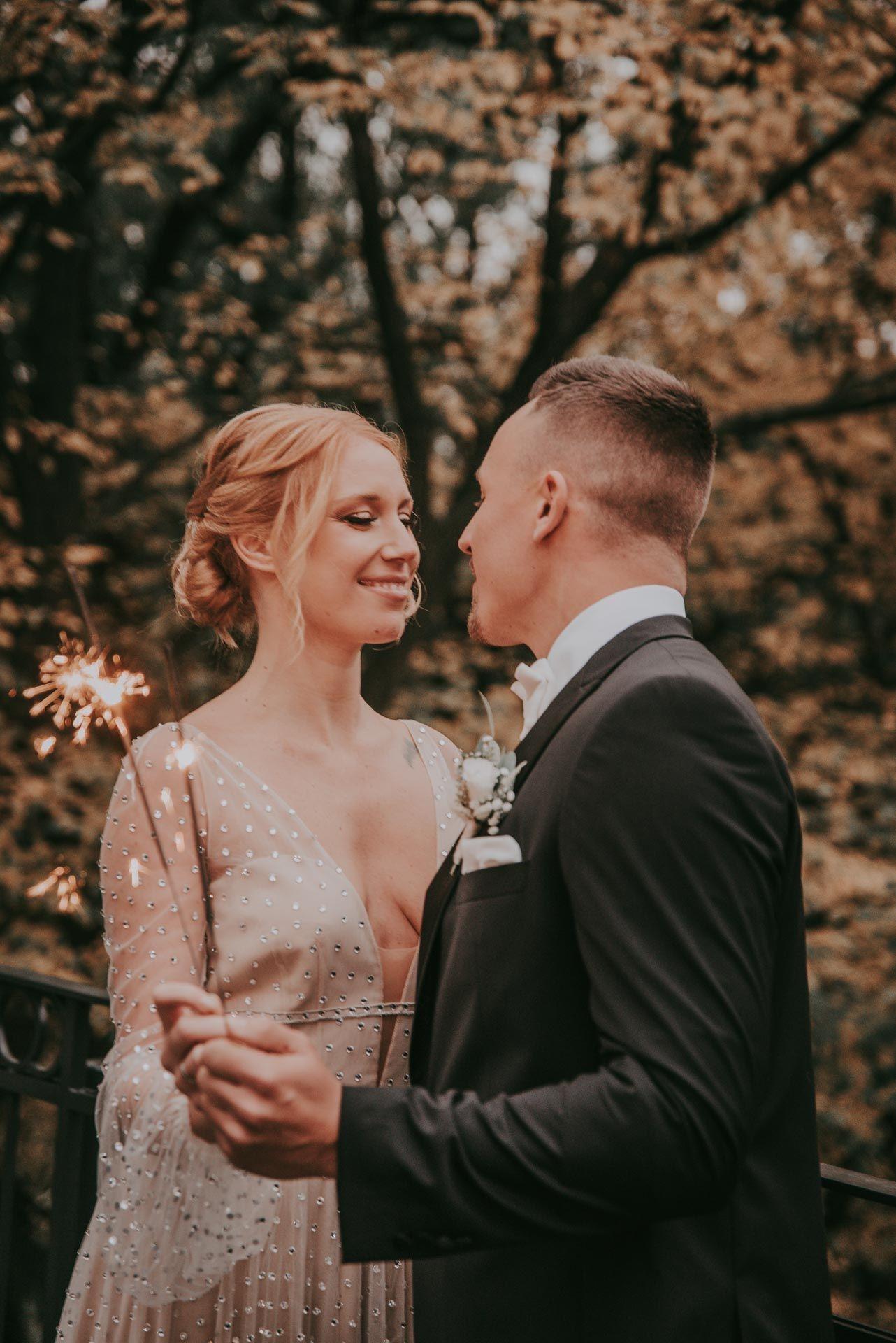 Let Love Sparkle Kleine Hochzeit Winterhochzeit Brautjungfern