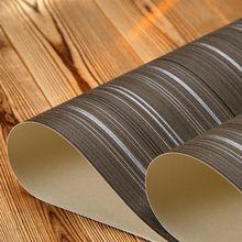 Schwarz Weiß Streifen Wand Papier Für Wände Braun Gestreiften Tapeten PVC  Moderne Tapete Streifen Wasserdicht, Papel De Parede Listra(China  (Mainland))