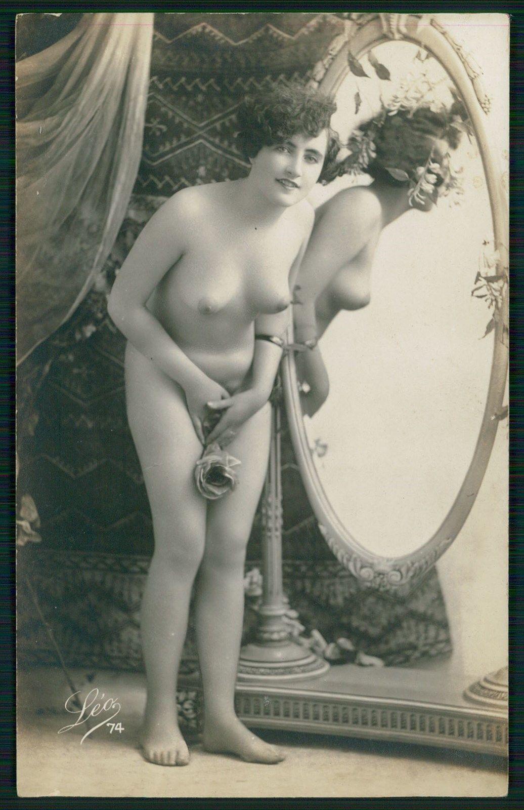 Antique nude postcards