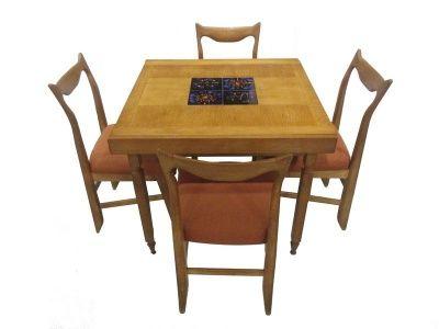 Guillerme Chambron Table Chaises Mobilier De Salon Maison Chaise