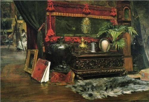A Corner of My Studio - William Merritt Chase
