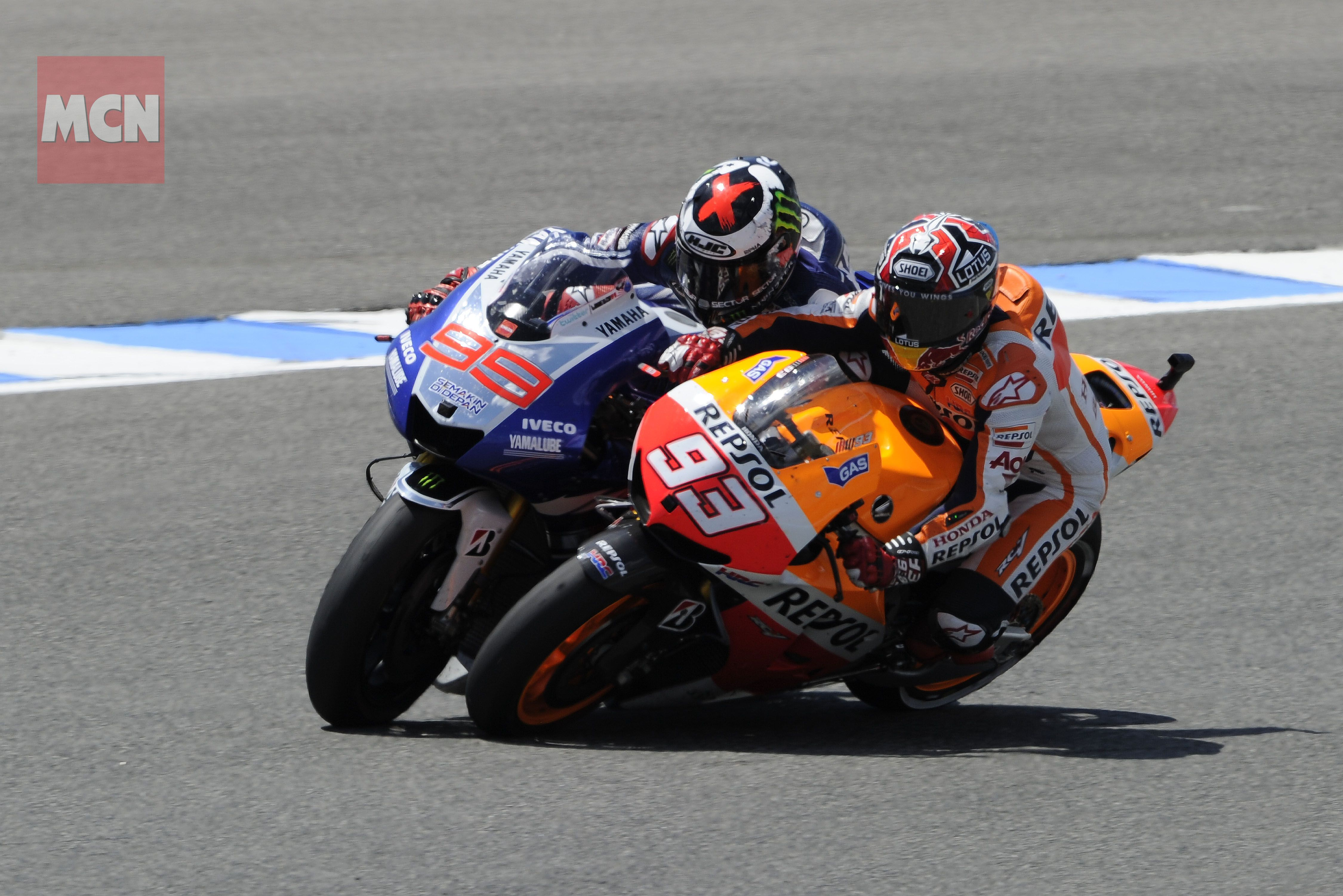 Marc Marquez Vs Jorge Lorenzo May 6 2013 MotoGP Pinterest