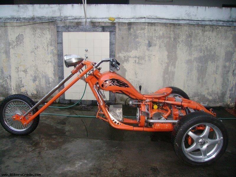 VW Trike Chopper | Custom VW Trikes | Vw trike, Trike