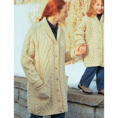 Free Intermediate Women\'s Cardigan Knit Pattern | tejidos ...