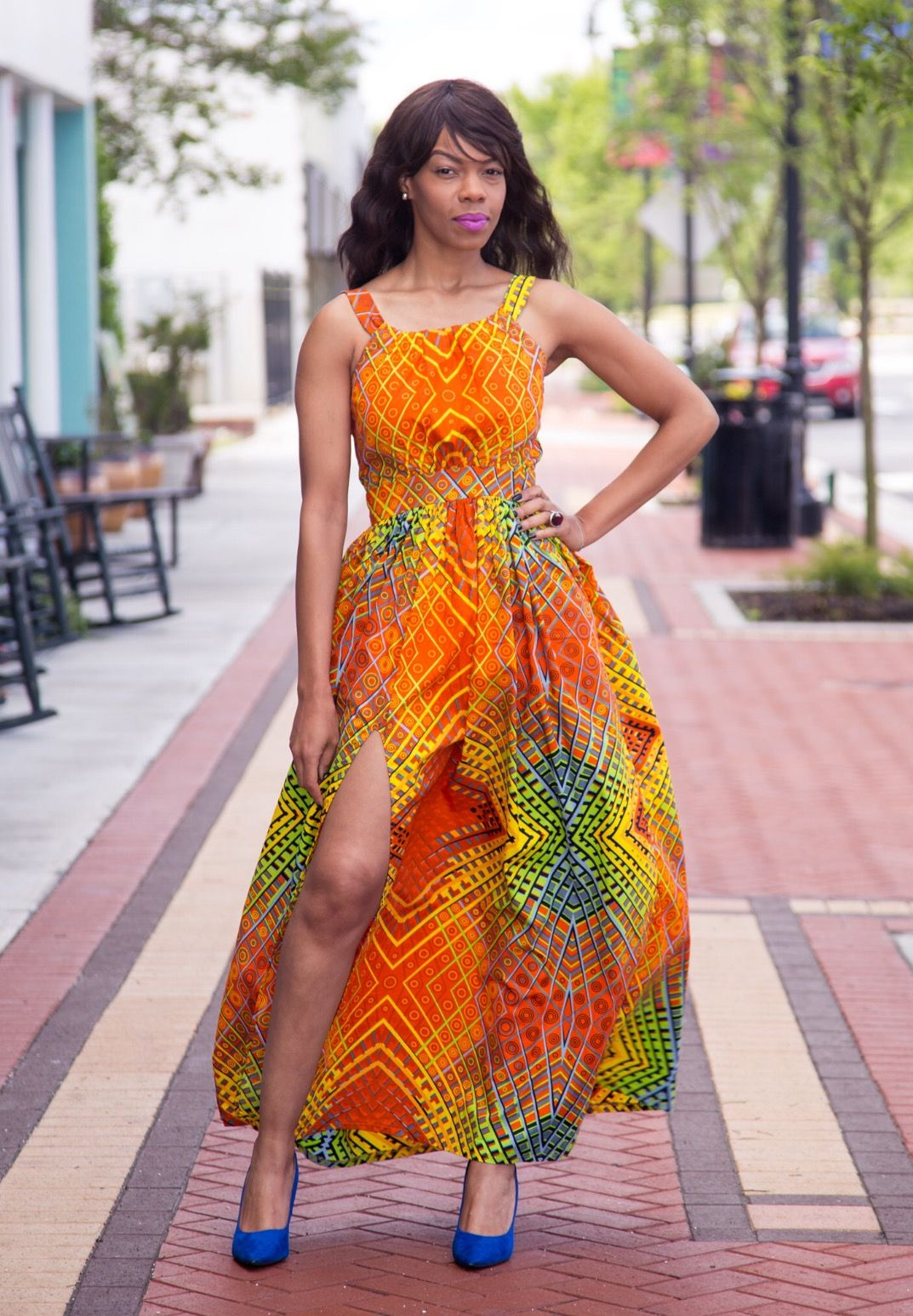 Sunshine Dress - Zuvaa | African Fashion | Pagne africain, Africaine et Pagne