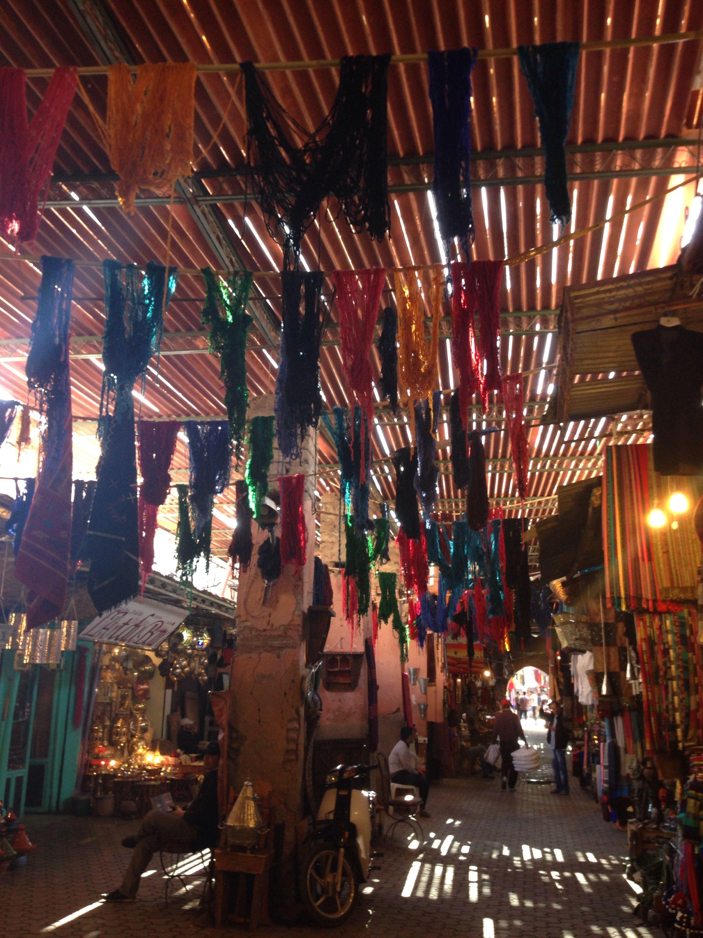 Wool Souk Marrakech Marrakech Souk Wide World Marrakech