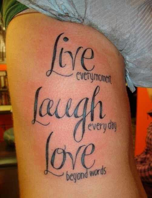 Live, Laugh, Love♡