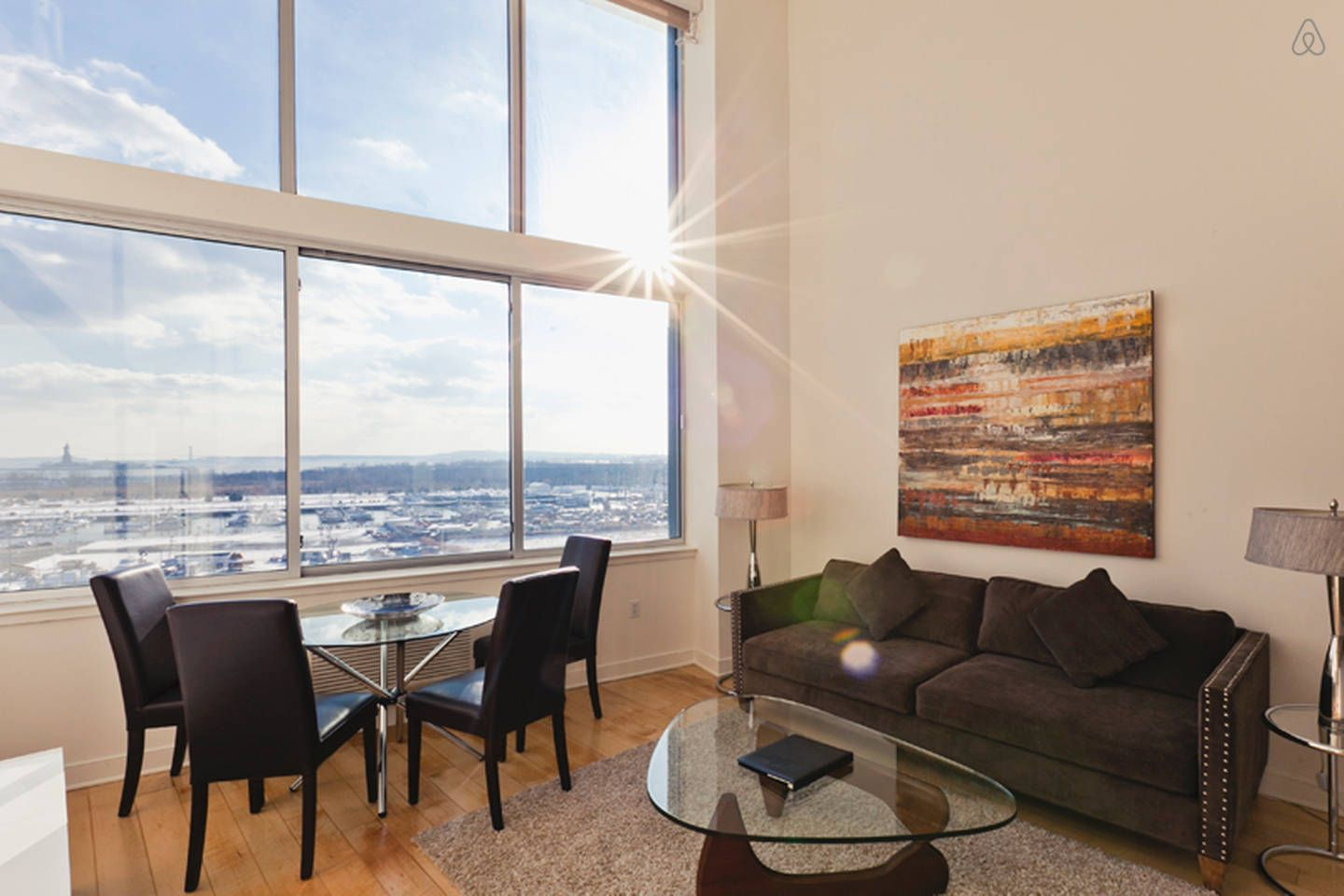 Sky City 3BR Duplex w/ Liberty View vacation rental in