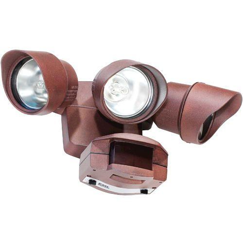 3 Light Halogen Motion Detector Security Light At Menards