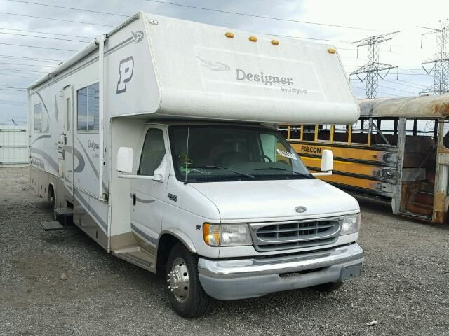 Salvage 2000 Jayco Designer Class C Rv On A Ford E450 Chasis With