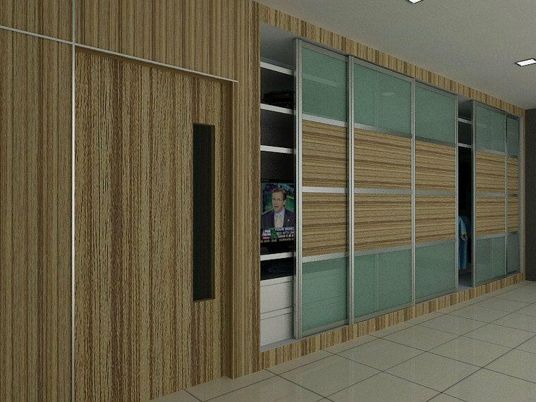 Wardrobe Design JB, Johor Bahru, Malaysia Renovation, LEE SIANG RENOVATION