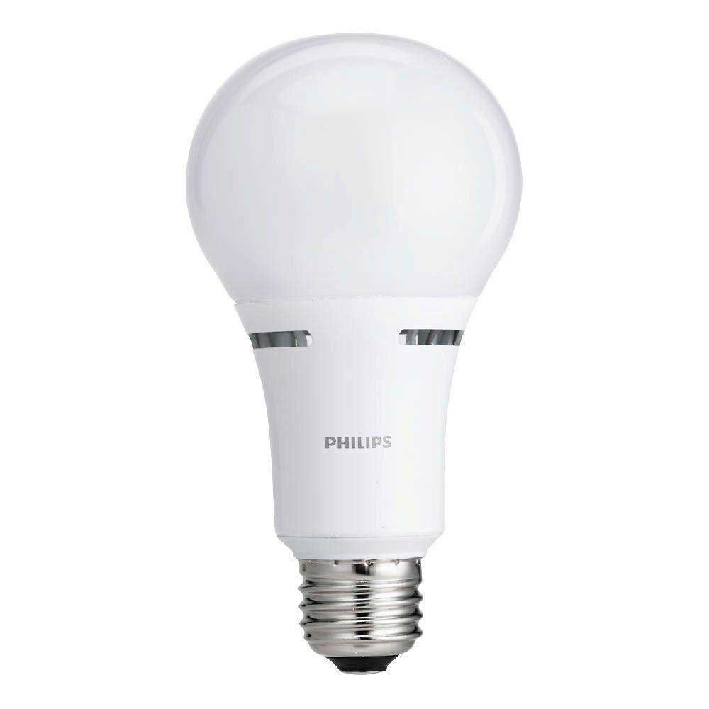 Philips 465146 50 100 150w Equivalent Soft White 3 Way A21 Led Light Bulbenergy Philips Led Light Bulb Dimmable Led Lights Bulb