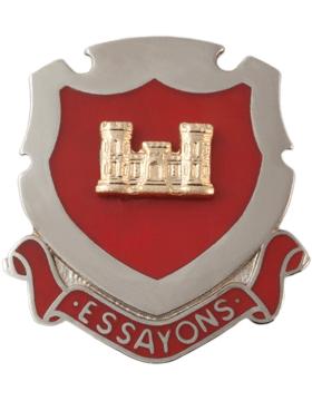 engineer regimental crest