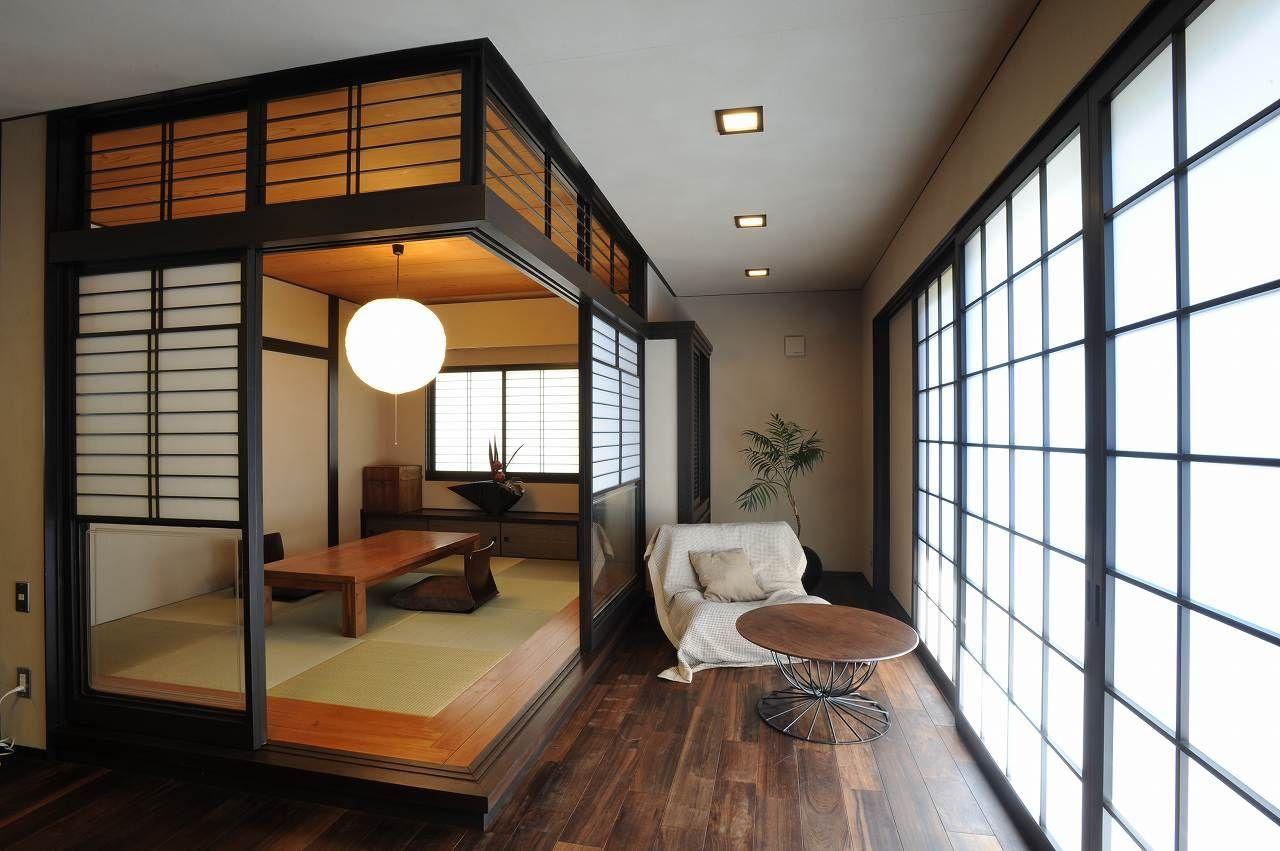 Japanese traditional veranda 小上がり Japanese living rooms