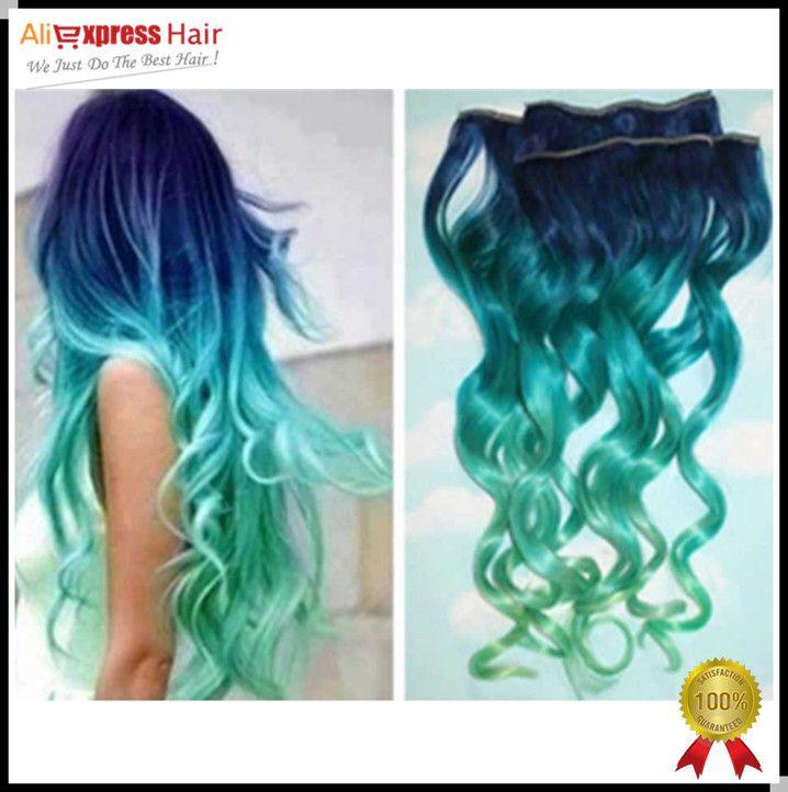 Aunicorn Ombre Hair Color