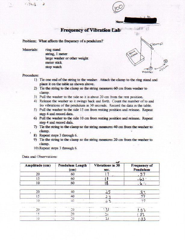 doppler effect worksheets – Doppler Effect Worksheet