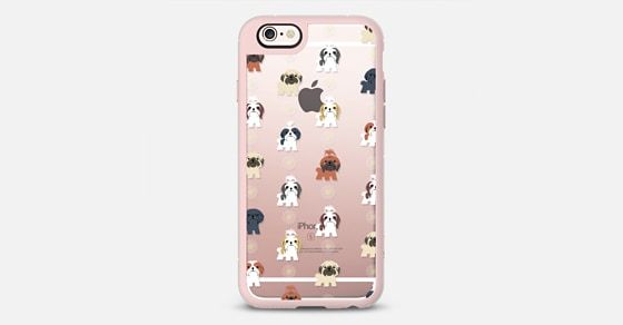Shih Tzus (Clear) iPhone 6s Funda by Lili Chin | Casetify (ES)
