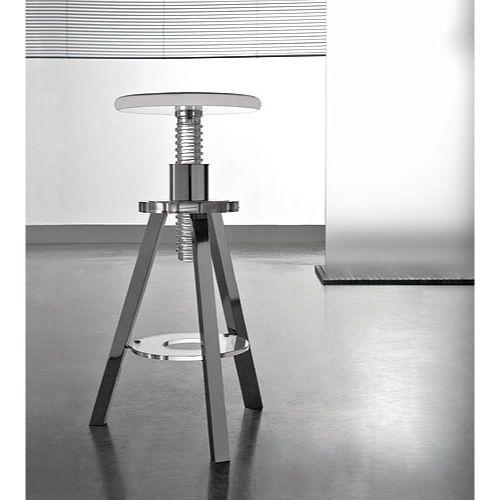 Charming Bathroom Stool, Toscanaluce K127, Plexiglass Round Bathroom Stool K127 Home Design Ideas