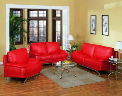 Sofa Rojo De Que Color Las Paredes Pintomicasa Com Sofa Rojo Colores De Interiores Colores De Pintura De Interior