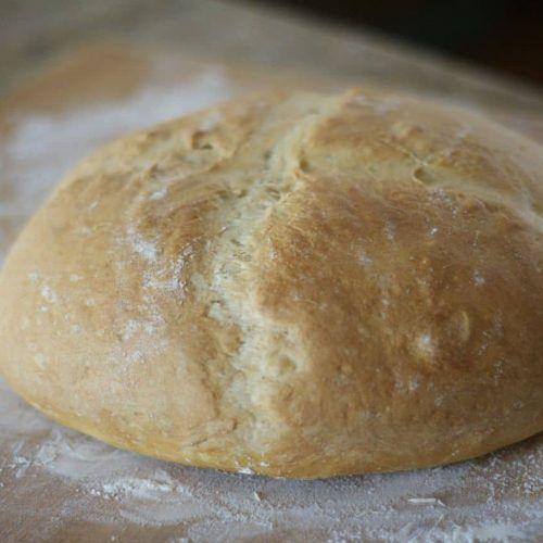 This recipe from my childhood, my Grandma's Italian Bread ...