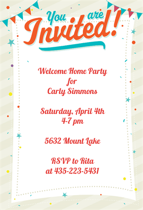 Good Party: Free Party Invitation Templates Is Your Newest Idea Of Impressive Party  Invitation 17 Within Party Invite Templates Free