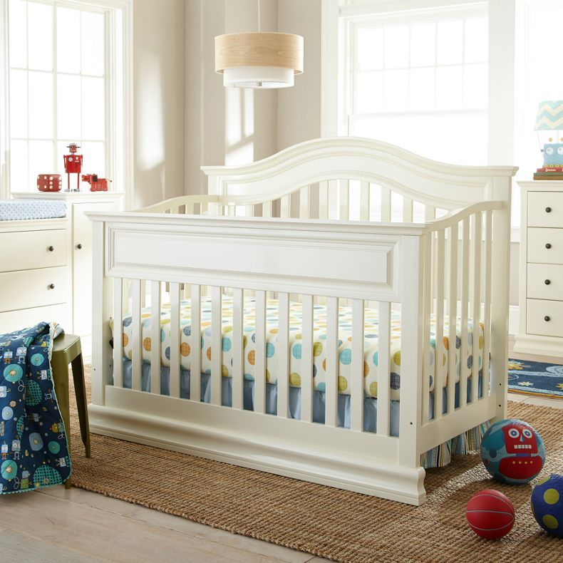 Jcpenney Savanna Tori Convertible Crib Off White