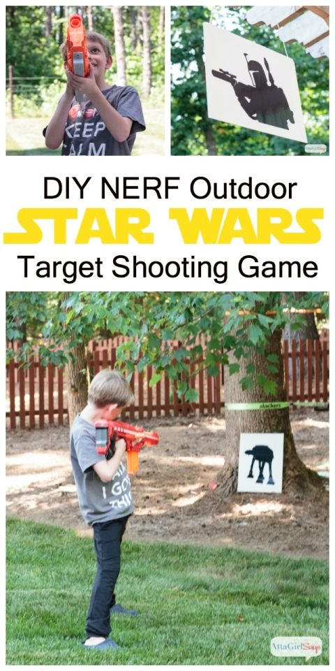 Nerf Wars is perfect for ages 5 and up.