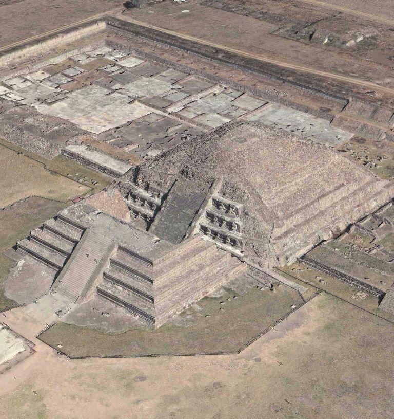 Ciudadela. Teotihuacán.