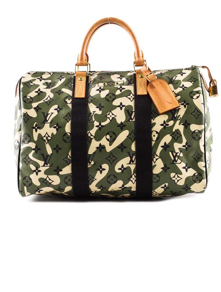 9db52571cb74 Louis Vuitton Camouflage Speedy 35.   Purses   Pinterest   Bolsos ...