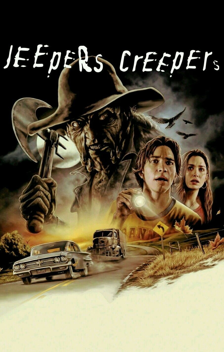 Jeepers Creepers Jeepers Creepers Classic Horror Movies Horror Movies