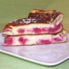 Légèreté & Gourmandises: Tarte au fromage blanc et aux framboises (4 PP)